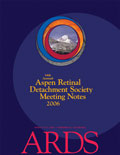 2006 ARDS Meeting Notes cover